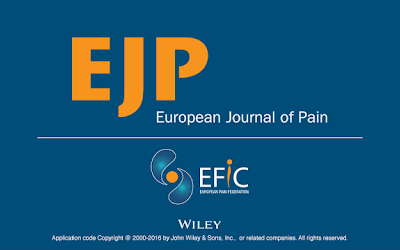 Latest data shows growth in impact of European Journal of Pain