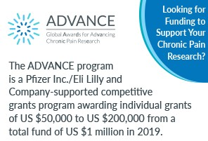 ADVANCE: Funding opportunity for innovative research proposals on chronic pain management