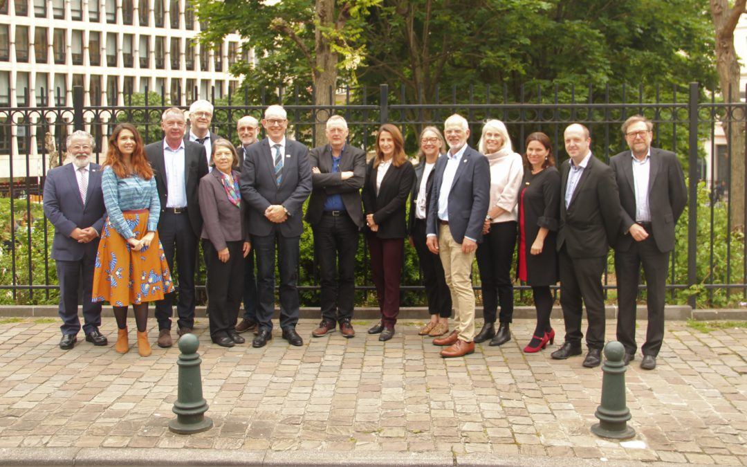 The European Pain Forum met yesterday in Brussels