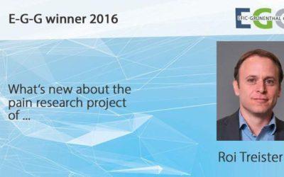 Meet the E-G-G symposium speaker: Roi Treister, PhD