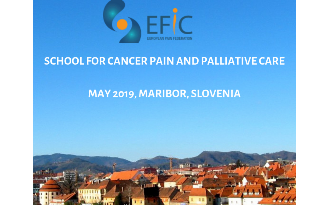 EFIC School for Cancer Pain and Palliative Care – Report by Tijana Spasojevic