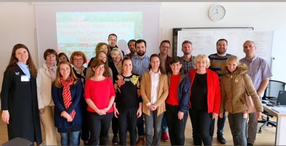EFIC School for Cancer Pain and Palliative Care, in Maribor, Slovenia – Report by Milos Milojkovic