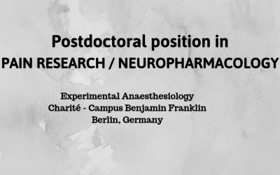 Postdoctoral position in PAIN RESEARCH / NEUROPHARMACOLOGY