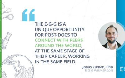 Meet E-G-G Winner 2018: Jonas Zaman, PhD