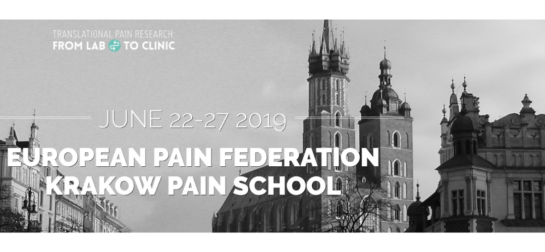 Great Experience in EFIC Krakow Pain School 2019