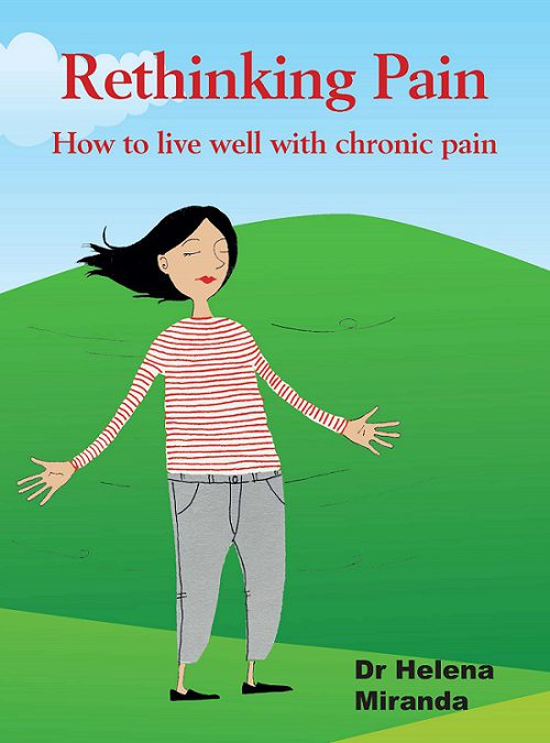 Pain management book on how to live well with chronic pain!