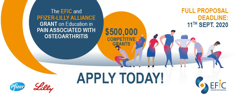 The EFIC and Pfizer-Lilly Alliance Grant on Education in Pain Associated with Osteoarthritis
