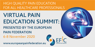 Join our Virtual Pain Education Summit: 6-8 November 2020