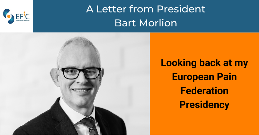 A Letter from President Bart Morlion
