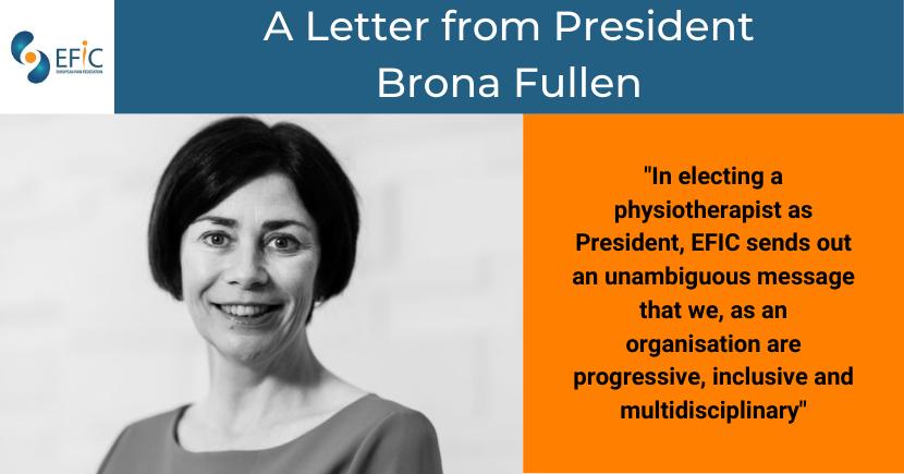 A Letter from President Brona Fullen
