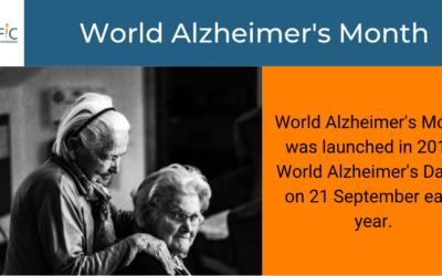 World Alzheimer's Day: 21 September 2020