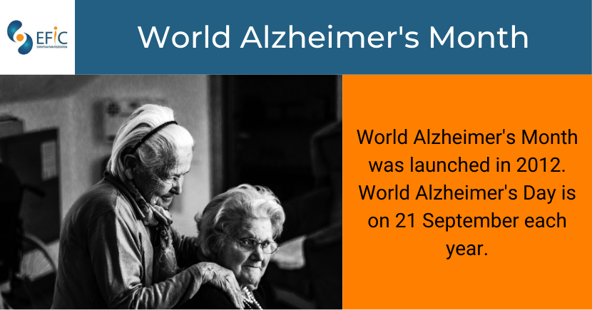 World Alzheimer's Day: 21 September 2020