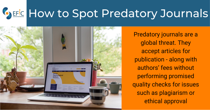 How to Spot Predatory Journals