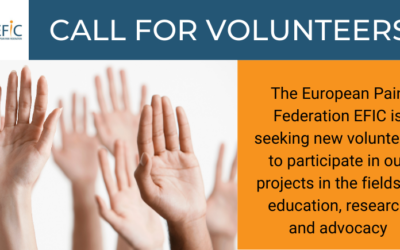 European Pain Federation: Call for Volunteers